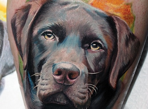 The 22 Coolest Labrador Tattoo Designs In The World
